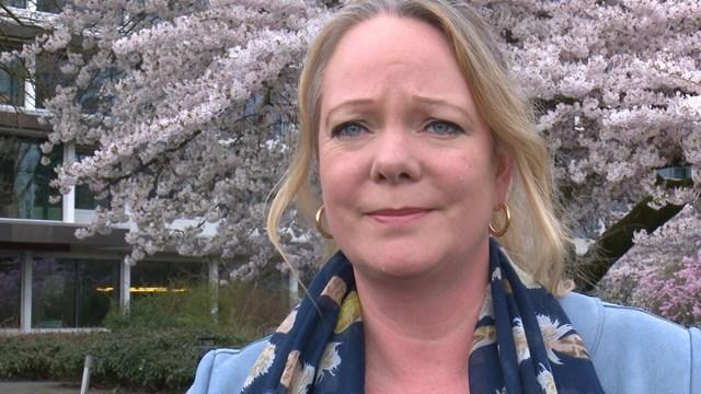 voormalige gedeputeerde Hester Maij - fotograaf: RTV Oost / Jauke Boerdam
