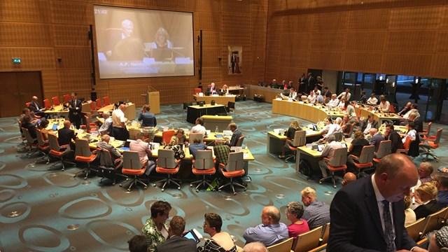 Provinciale Staten in vergadering over het coalitieakkoord - fotograaf: Simon Dirk Terpstra