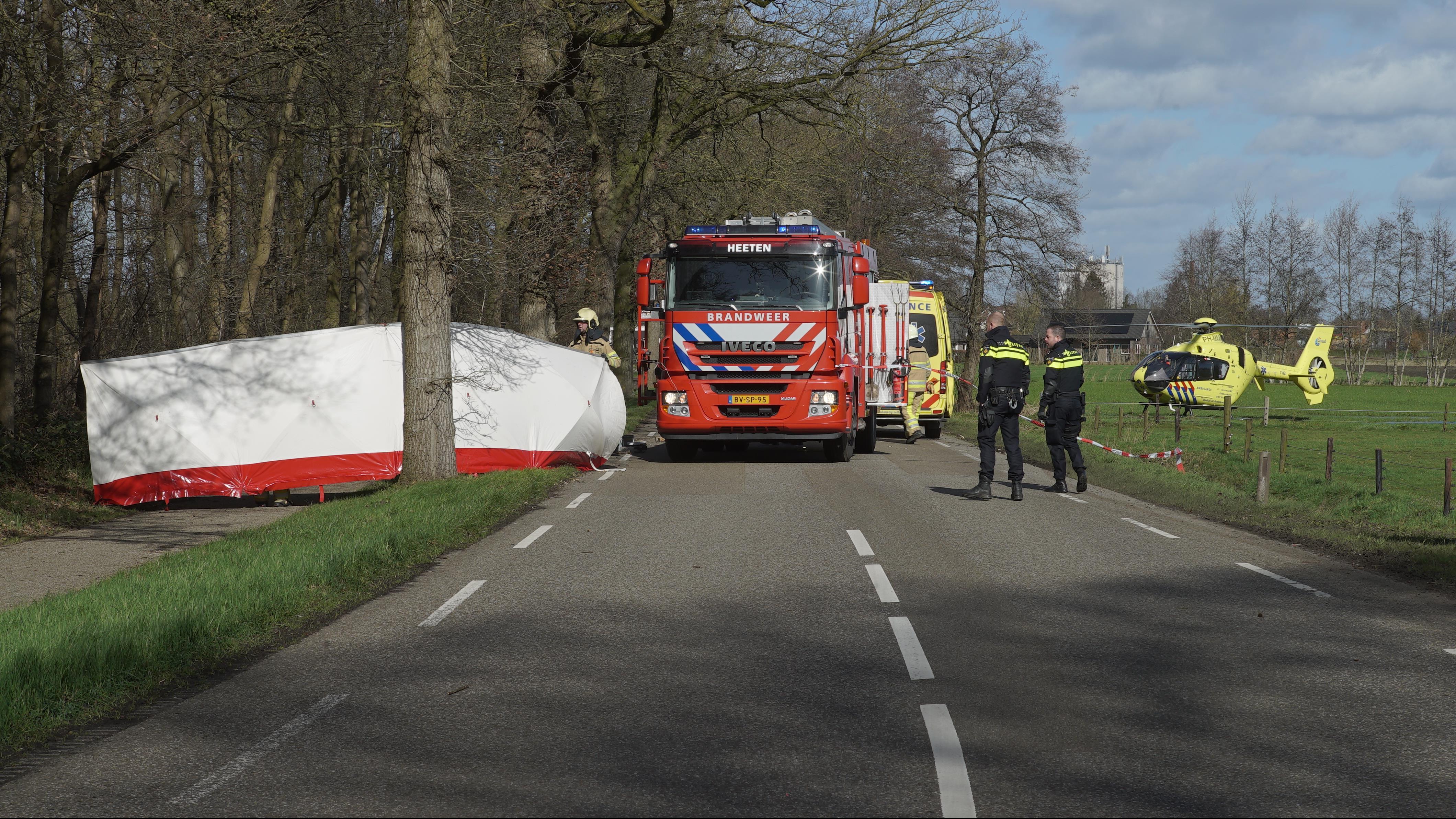 Automobilist die bij eenzijdig ongeval in Heeten om het leven kwam is een man.