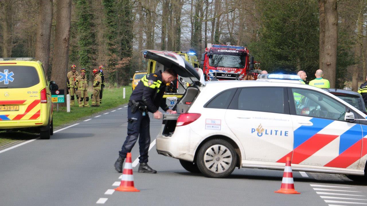 Automobilist om het leven gekomen bij ongeluk in Tilligte.