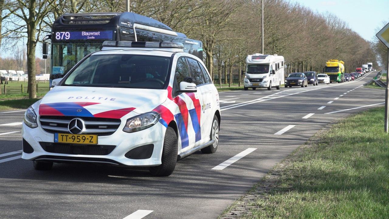 Opnieuw verkeersongeluk op veelbesproken kruising N35 bij Laag Zuthem.