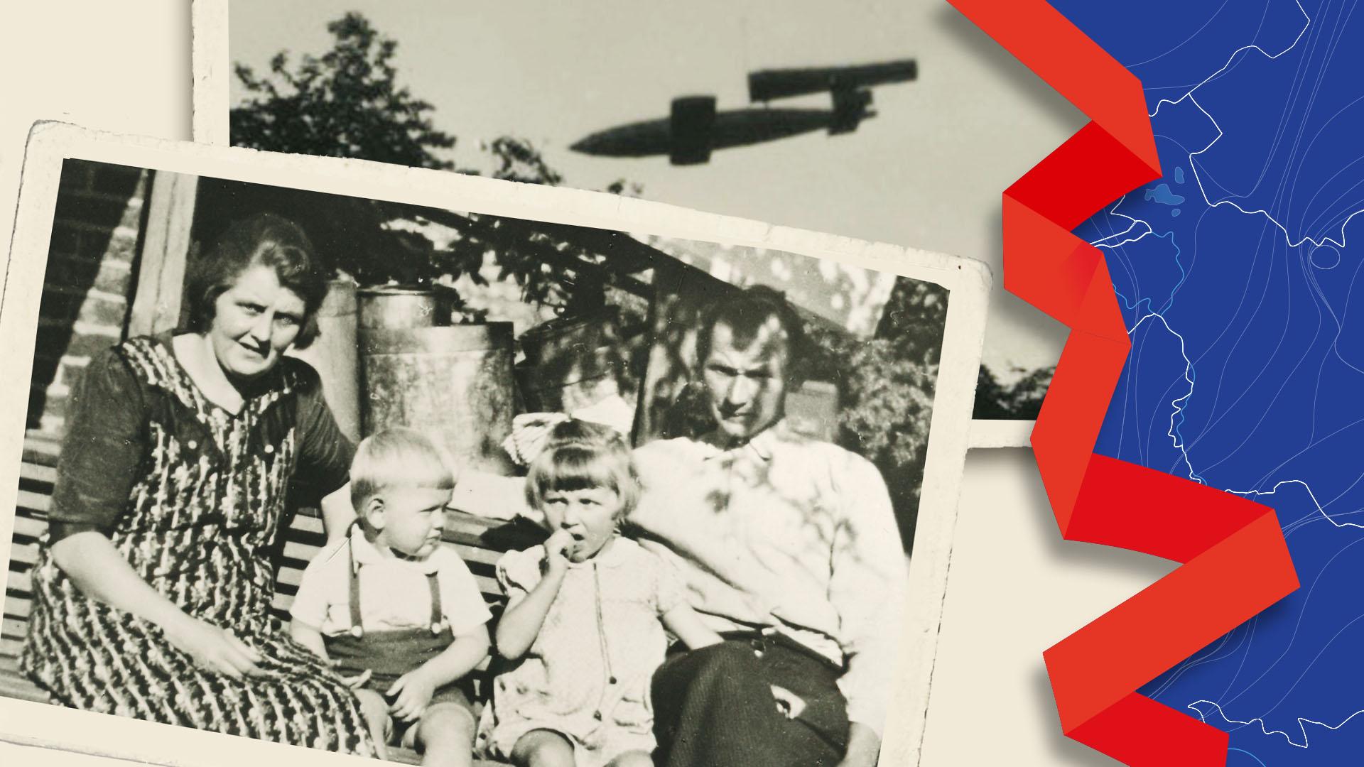 De 17 gezichten van oorlog in Overijssel | Johan Vreman ziet hoe zijn familie geraakt wordt door Duitse wraakwapen