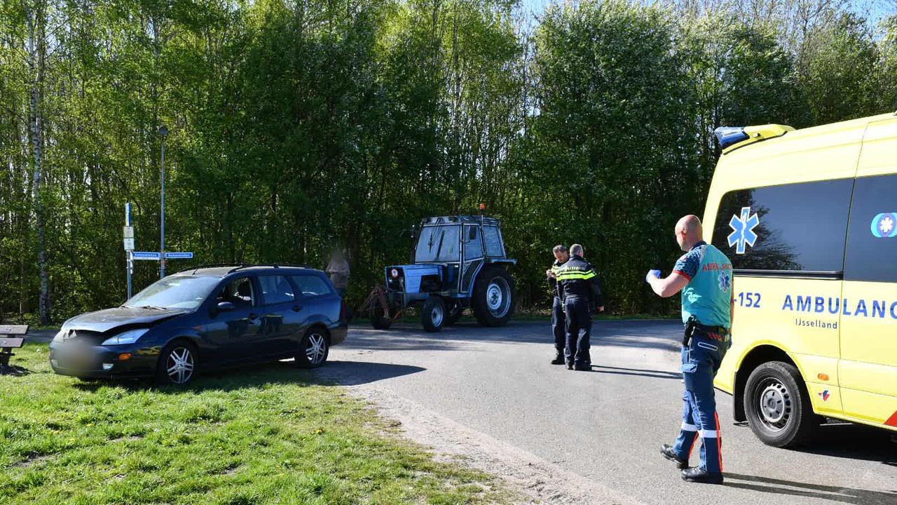 Automobilist gewond bij ongeval in Vroomshoop.