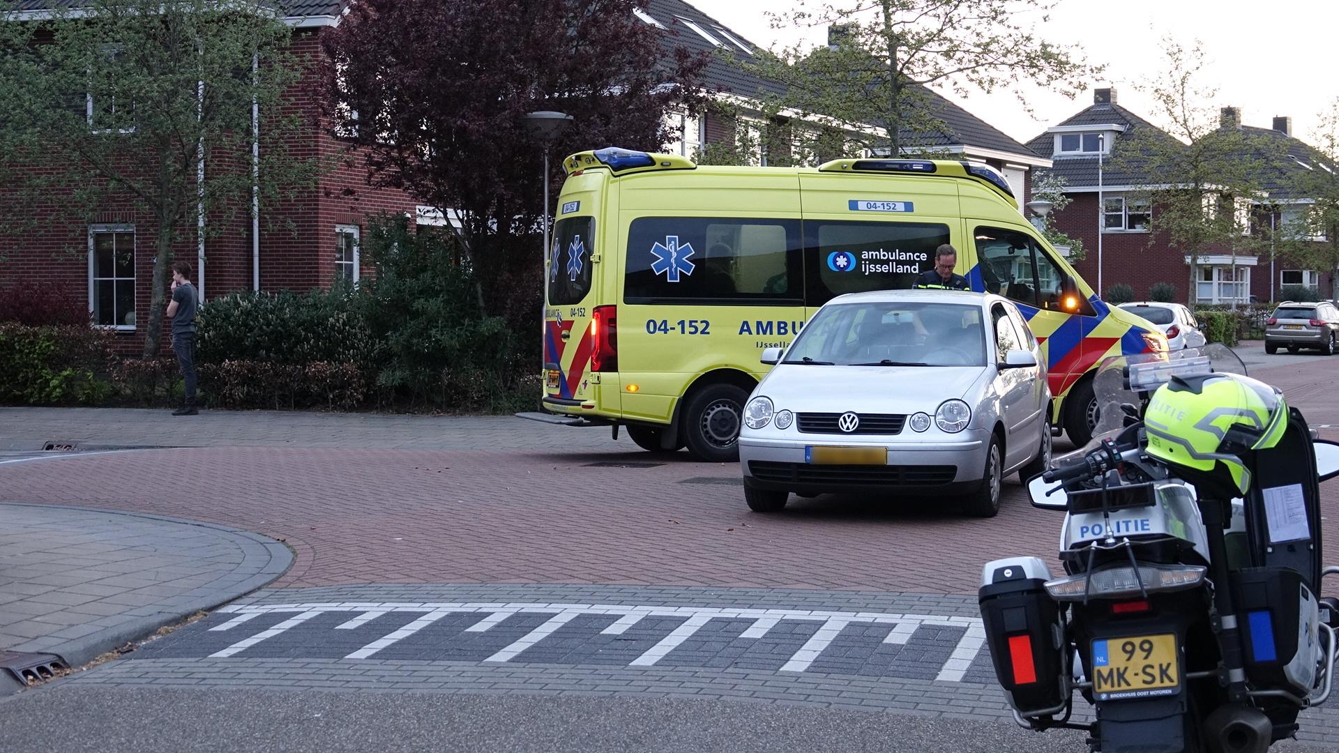 Fietsster gewond bij ongeluk in Hardenberg.