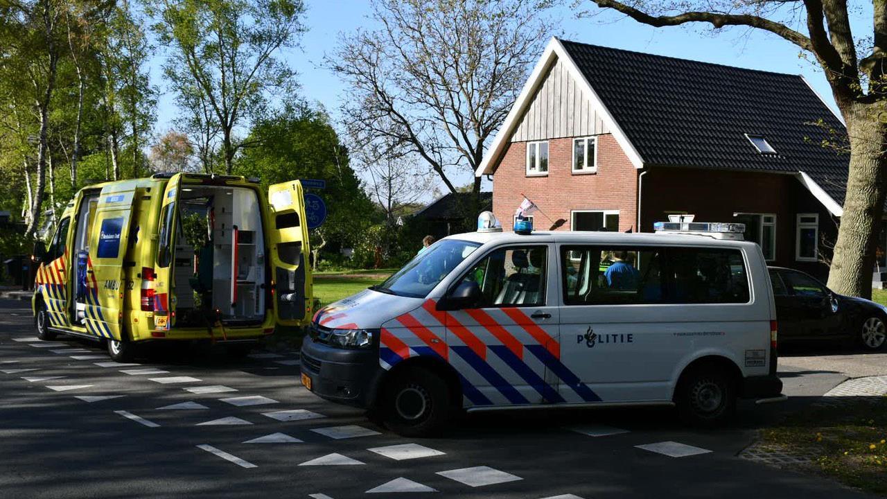 Bromfietser gewond bij aanrijding in Den Ham.