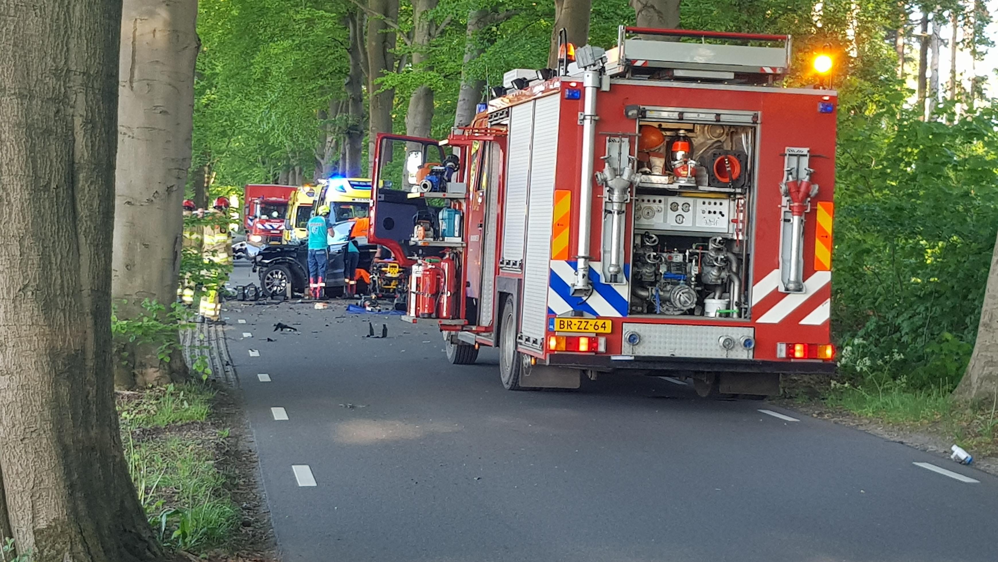 Gewonde bij ongeluk in buitengebied Diepenveen.