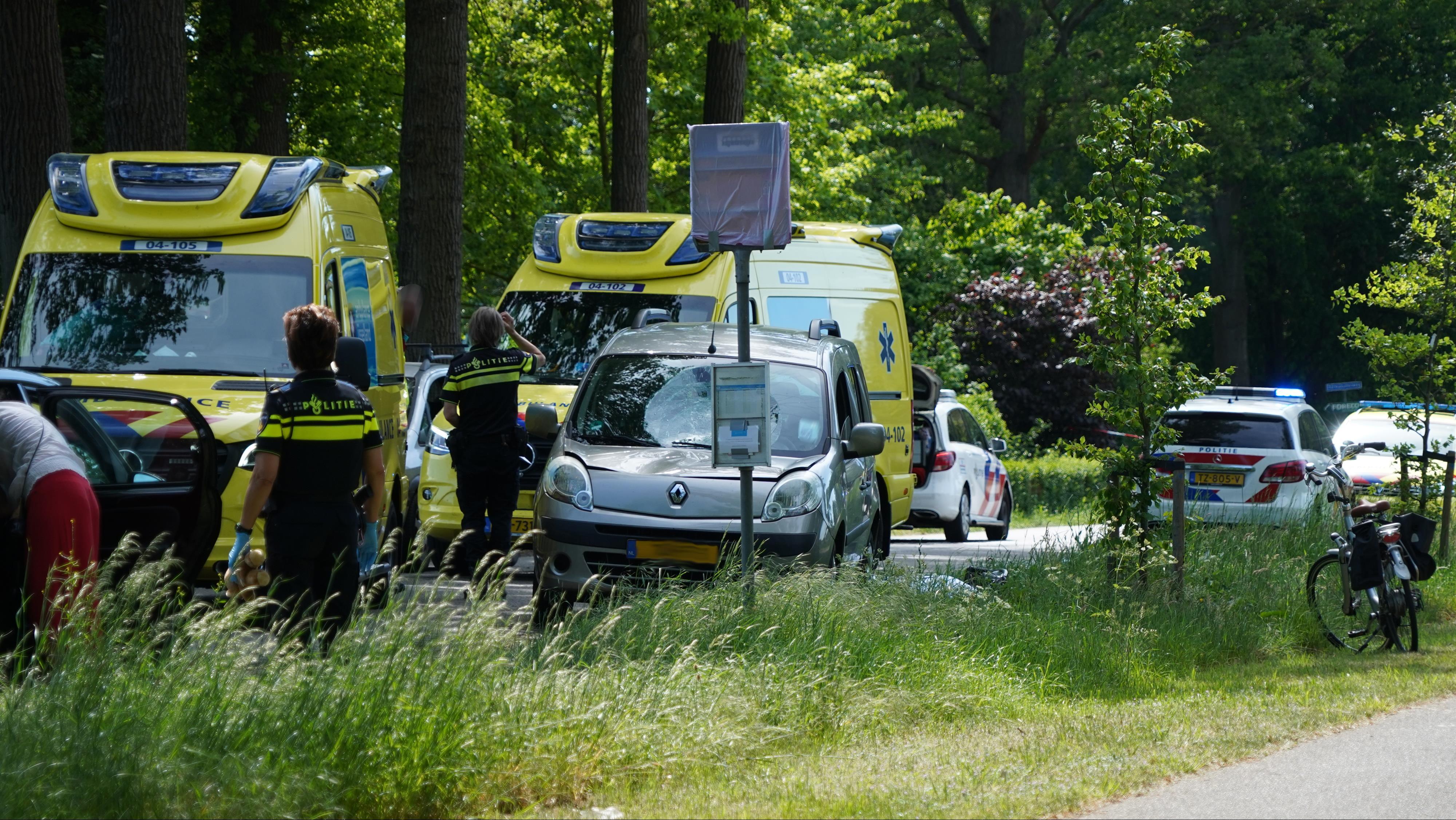 Vrouw overleden na ongeval in Dalfsen.