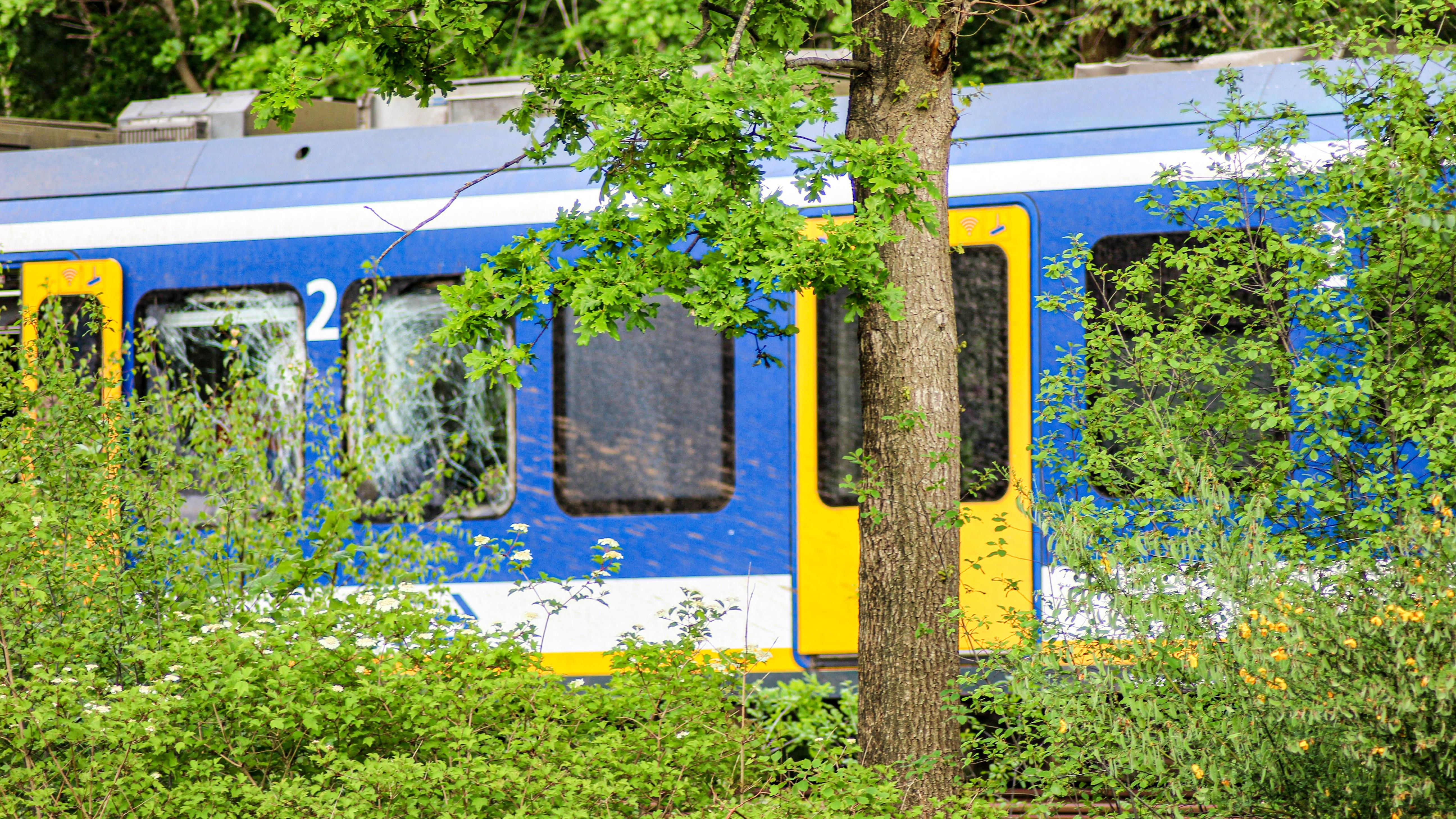Machinist uit Hardenberg komt om bij botsing tussen trein en tractor in Drenthe.
