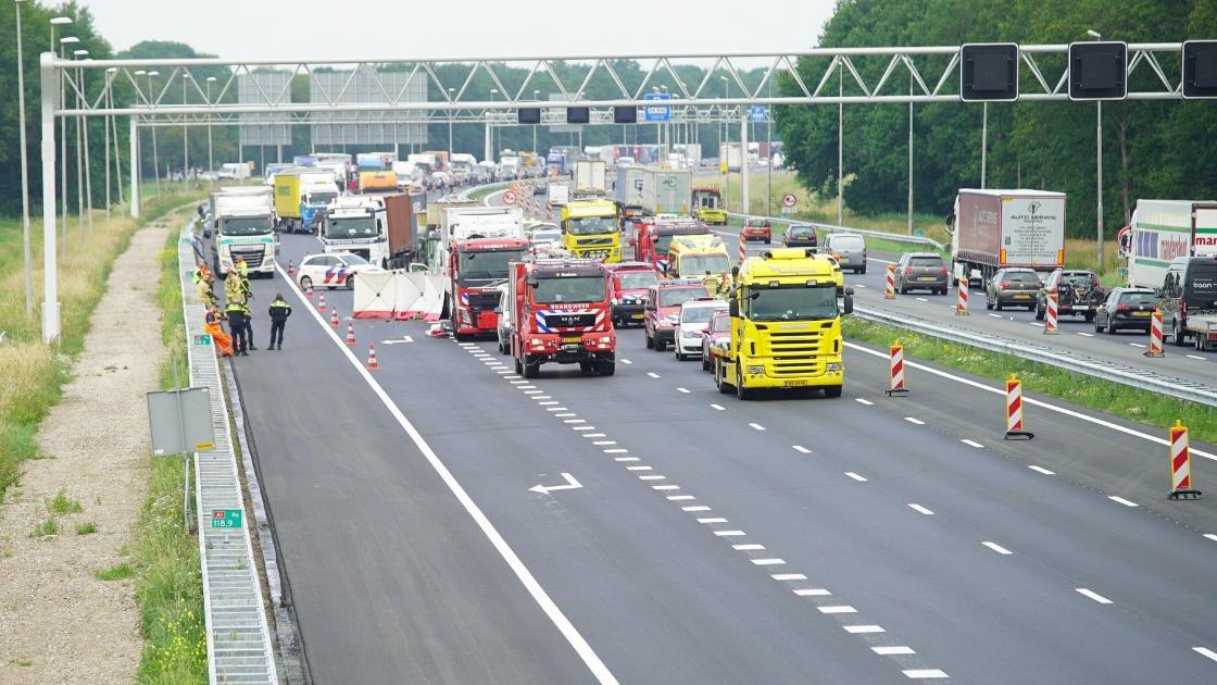 Dodelijk slachtoffer bij ongeluk op A1 is Nijmegenaar.