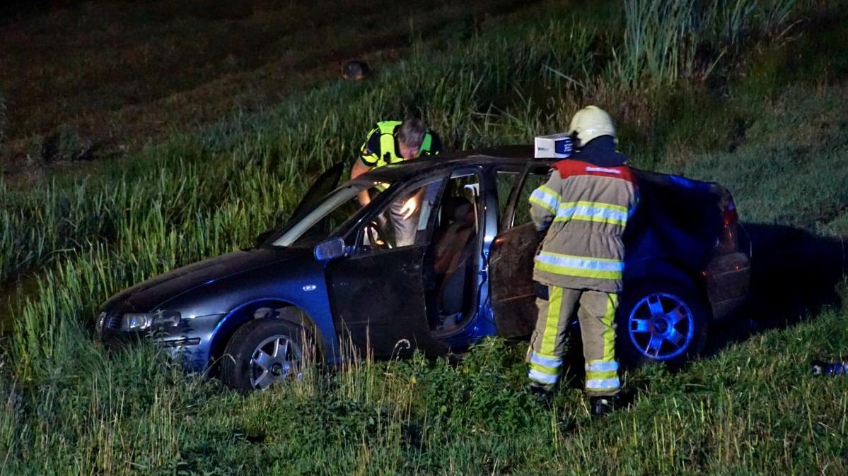 Twee gewonden bij eenzijdig ongeval Zwartsluis.