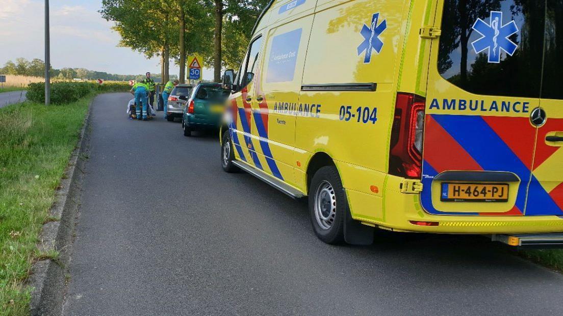 Automobilist gewond geraakt bij aanrijding in Hengelo.
