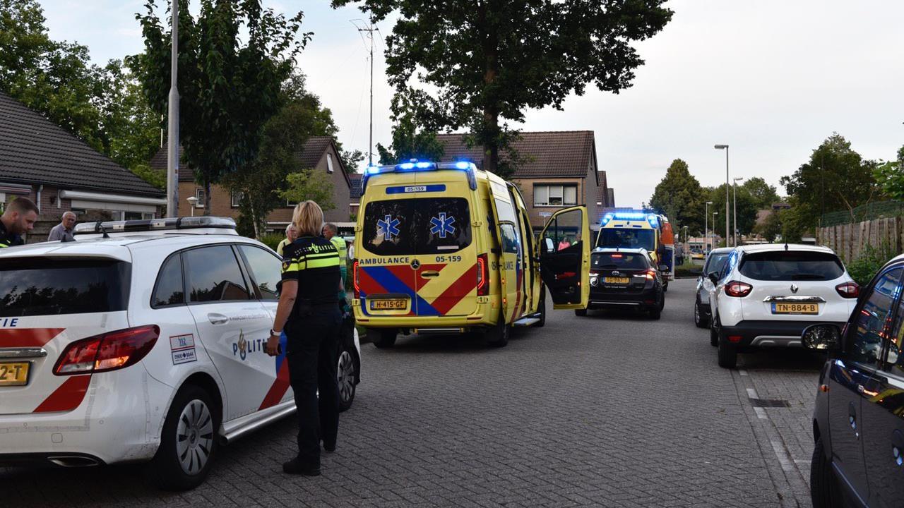Man zwaargewond na ongeval met scooter in Vriezenveen.