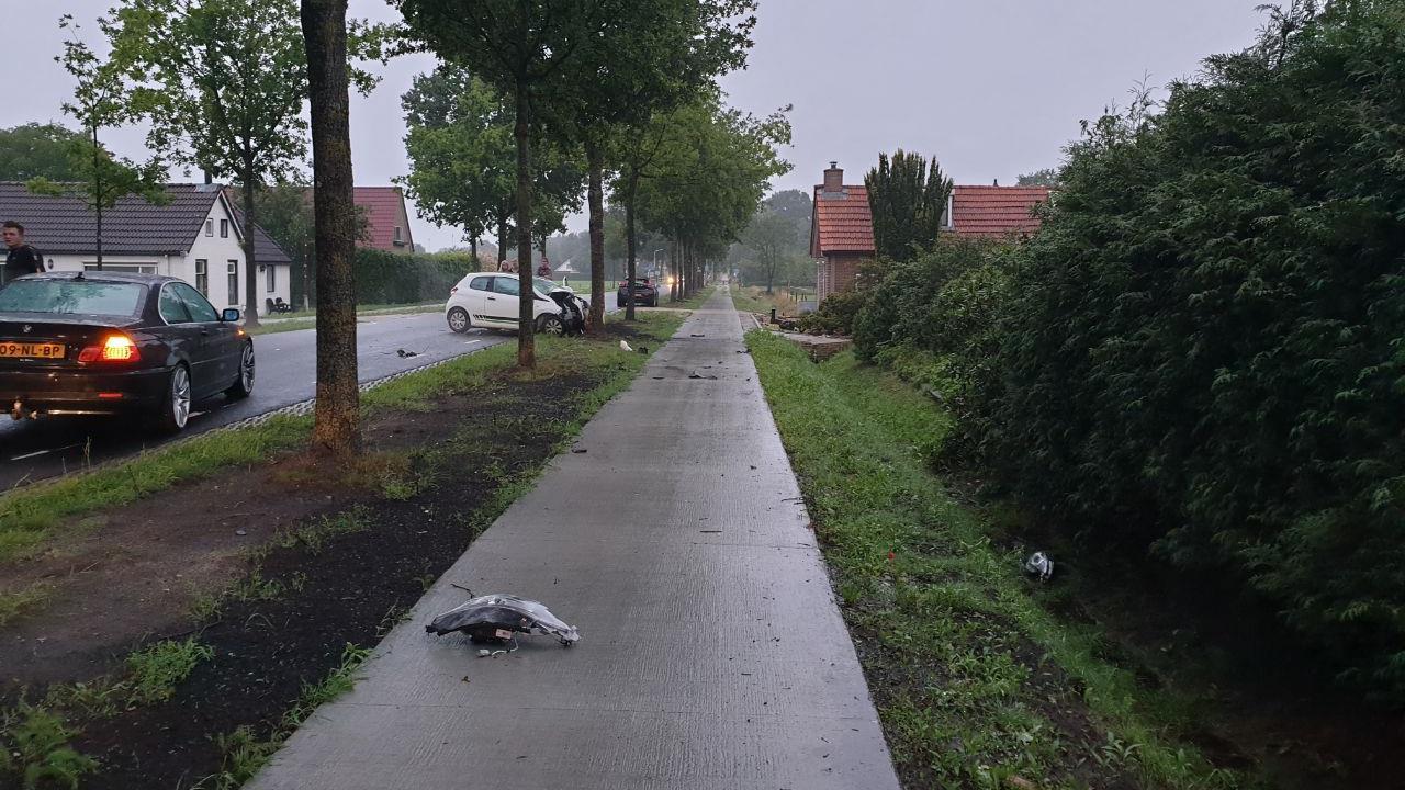 Automobilist met spoed naar ziekenhuis na ongeluk in Willemsoord.