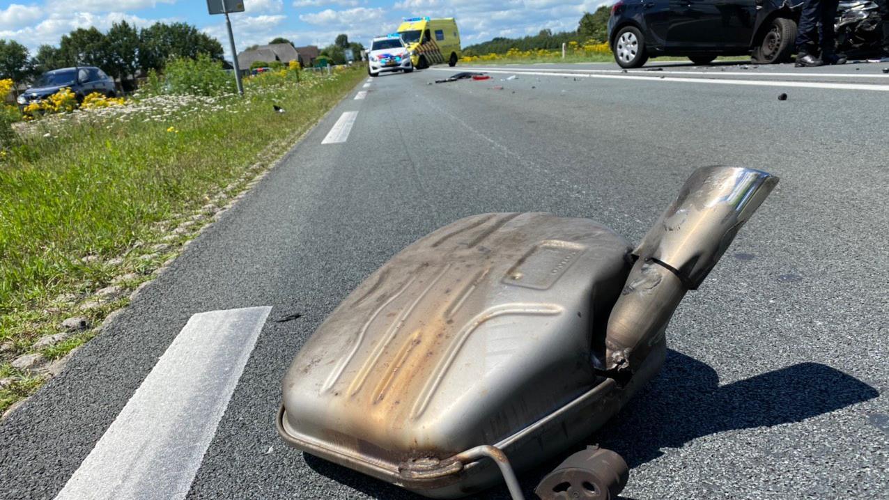 Twee ongelukken op de N35 tussen Wierden en Nijverdal; weg tijdelijk afgezet.