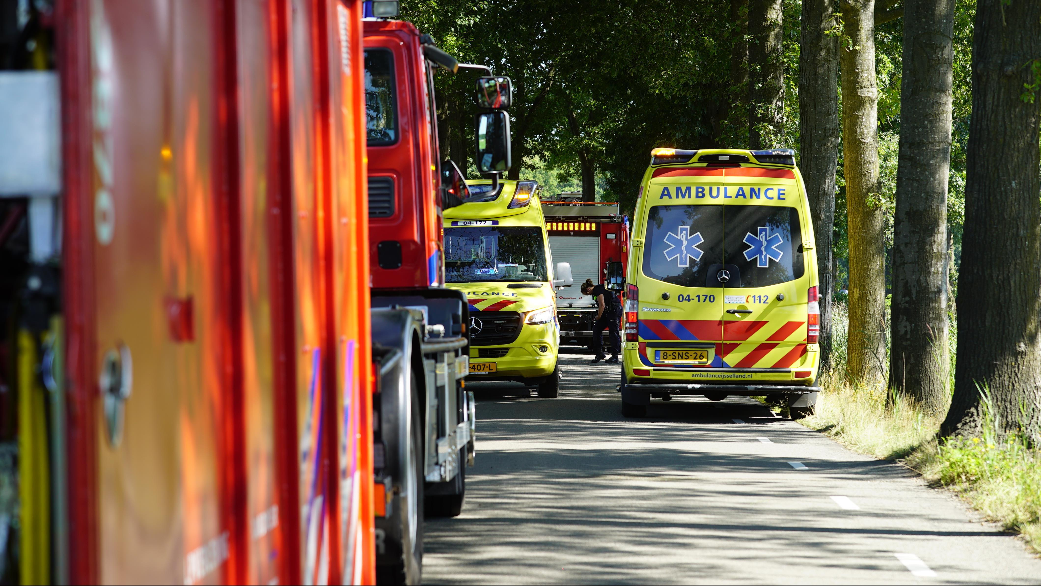 Ernstig ongeval in buitengebied bij Lettele.