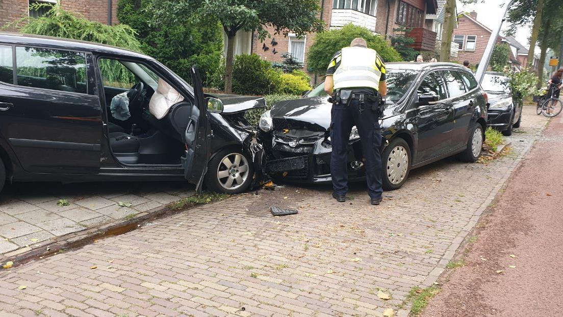 Ravage in Borne na eenzijdig ongeluk.