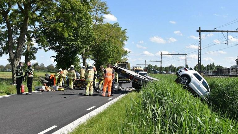 Veroorzaker ernstig ongeval Staphorst was mogelijk afgeleid door telefoon.