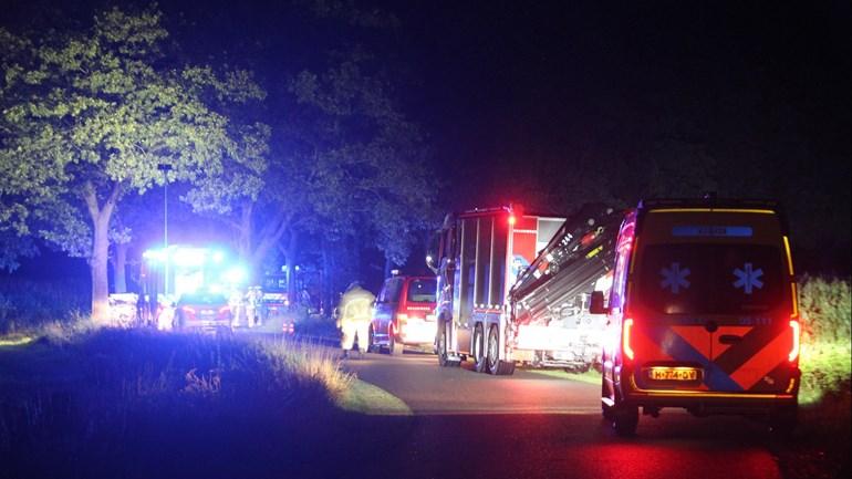 Vrouw uit Lochem omgekomen bij ongeluk in Markelo.