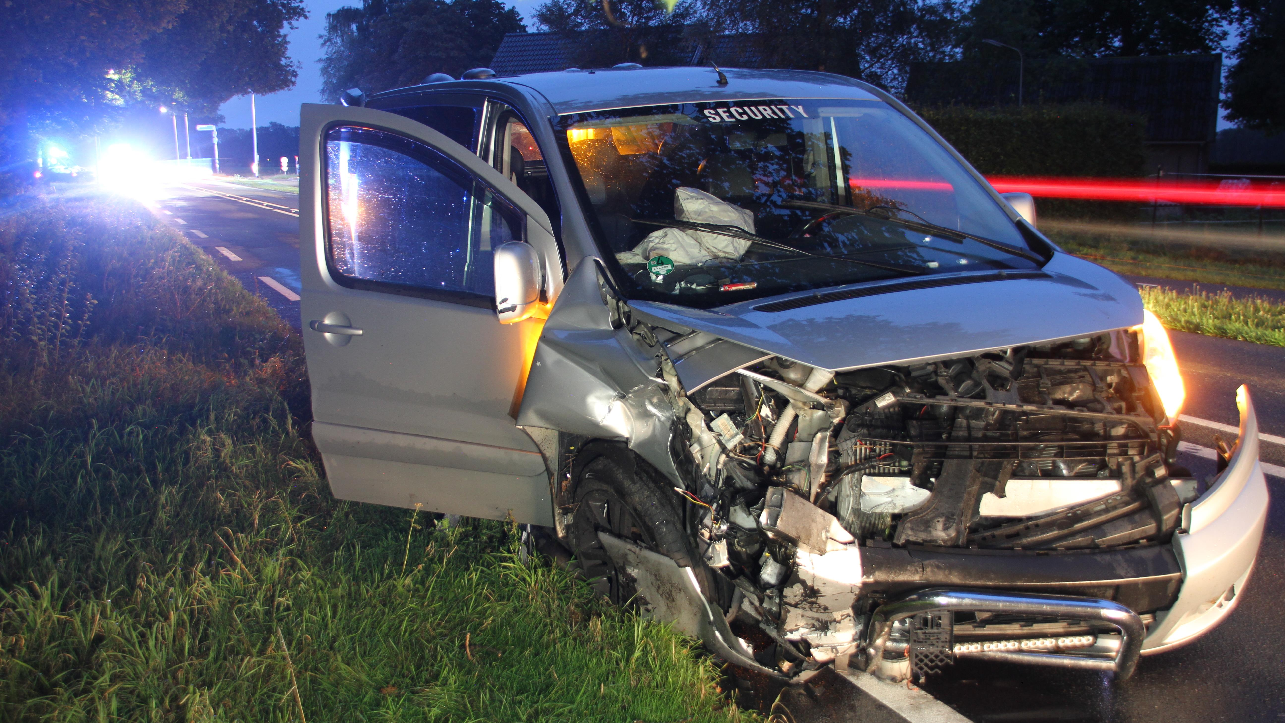 Ongeval op N332 bij Nieuw Heeten.