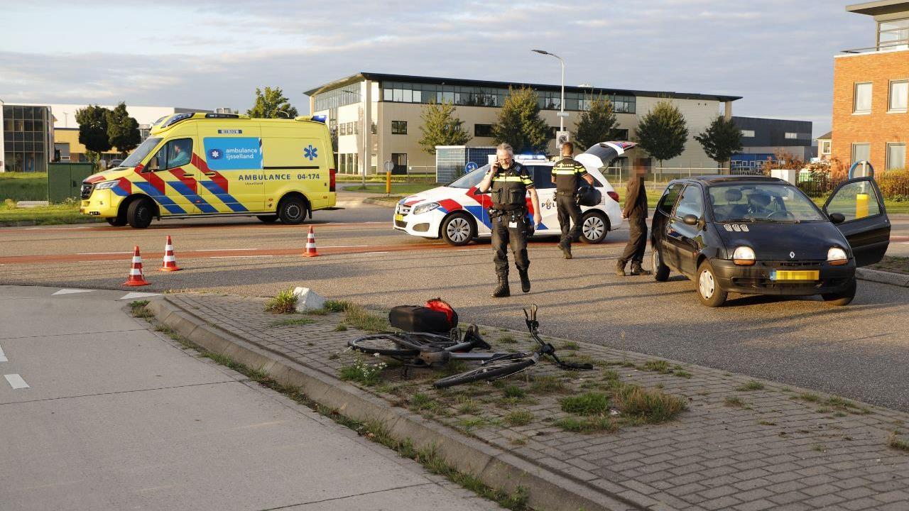 Fietsster gewond geraakt bij ongeval in Raalte.