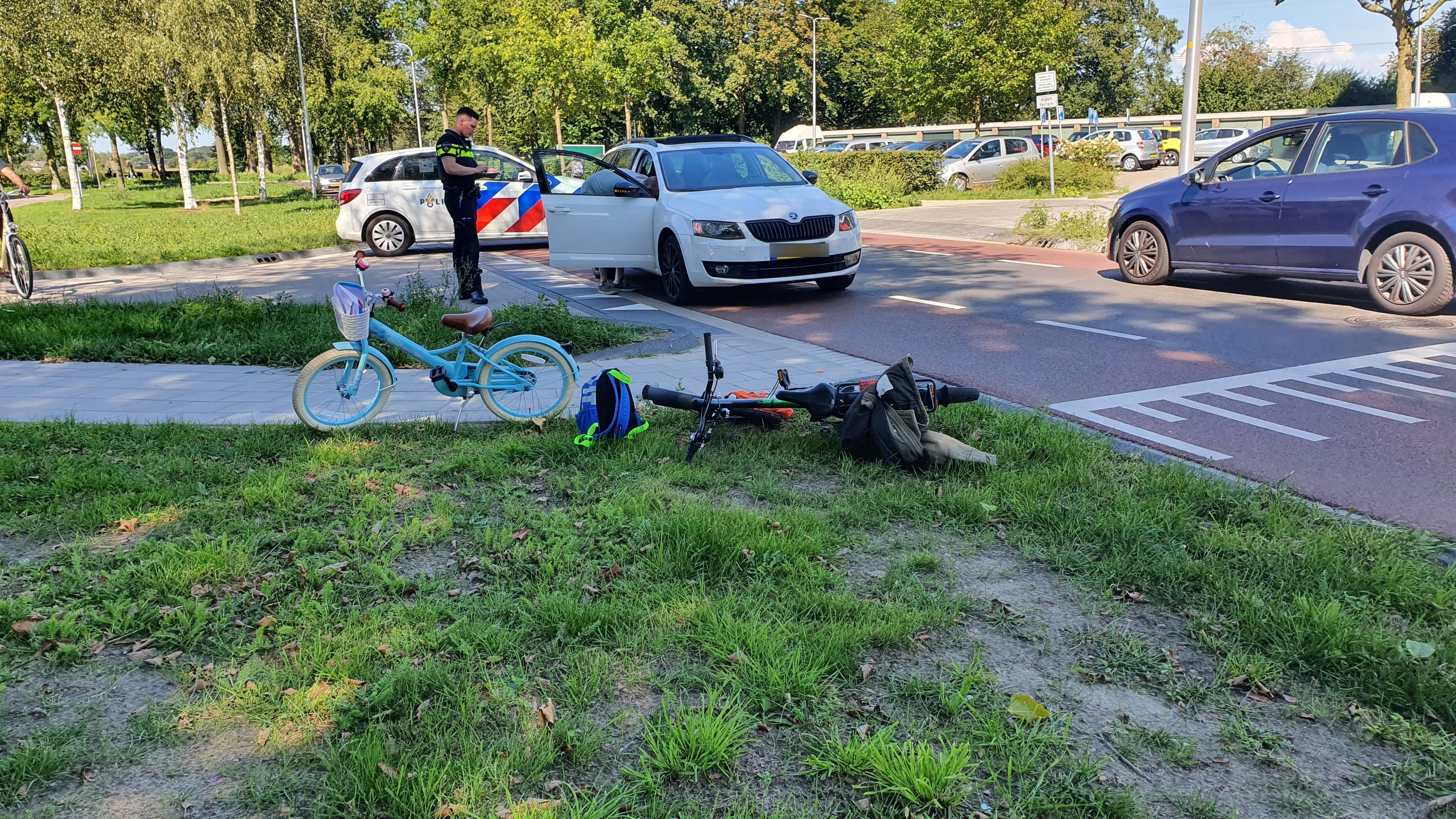 Jongetje gewond bij aanrijding in Deventer.