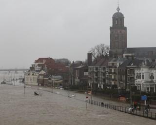 Hoogwater Deventer