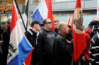 NVU-demonstratie loopt uit de hand