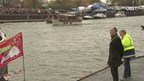Videoreportage Sinterklaas komt aan in Enschede
