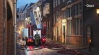 Brand in centrum Zwolle