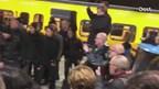 Veel belangstelling laatste treinrit NS op trajecten Kampen-Zwolle en Zwolle-Enschede