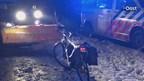 Fietser gewond bij botsing met sneeuwschuiver in Deurningen