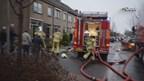 Straat in Oldemarkt afgezet na brand in schuurtje met asbest