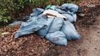 25 zakken hennepafval gedumpt in buitengebied Enschede