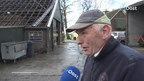 Boer in Haarle ziet voor zijn ogen hoe het dak van zijn stal wordt gerukt