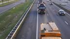 Schoonmaakwerkzaamheden op de A28