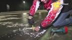 Voorzitter schaatsclub IJSCH, Henk Dijksterhuis hoopt op marathon op natuurijs in Haaksbergen