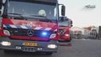 Vrachtwagen in brand in Geesteren
