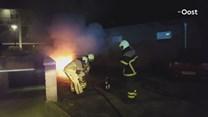 Autobrand in Rijssen