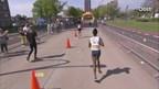 De finish bij de vrouwen