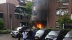 Vlammenzee in tuin Enschede