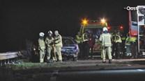 Ongeval op A32 bij Steenwijk