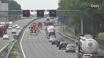 Grote drukte op A28 bij Staphorst na ongeluk