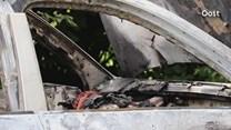Porsche Cayenne in brand gevlogen in Haaksbergen