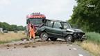 A32 richting Steenwijk afgesloten na ongeluk met meerdere voertuigen
