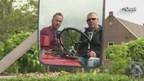 Hendrik Brinkers en Jan Nijenhuis onderweg naar België