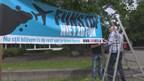 Reportage demonstratie tegen vliegverkeer in Zwolle