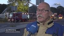 Verslaggever Ties van der Heide in gesprek met Jan Wittenberg van de veiligheidsregio