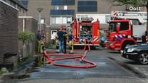 Schuurbrand in Zwolle