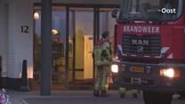 Bewoner ademt rook in bij brand in appartement Denekamp