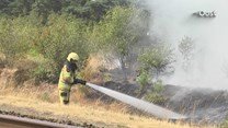 Geen treinverkeer door natuurbrand Beerze
